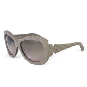 Diesel DL 0007 Women's Sunglasses in Khaki (58P)